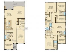 Majesty Palm villa floor plan